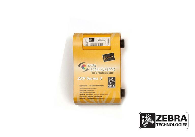 Ribbon Zebra Preto - 800033-801 (1000 impressões)
