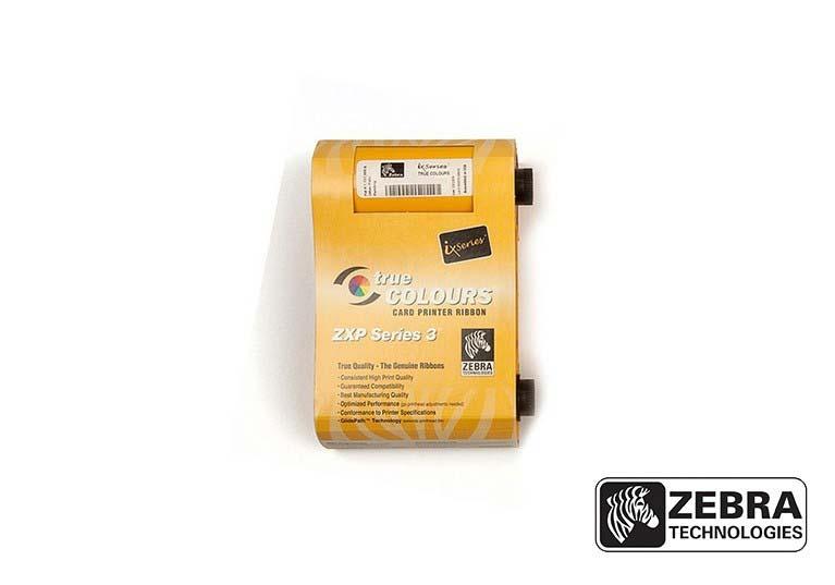 Ribbon Preto Zebra - 800033-301 (2000 impressões)