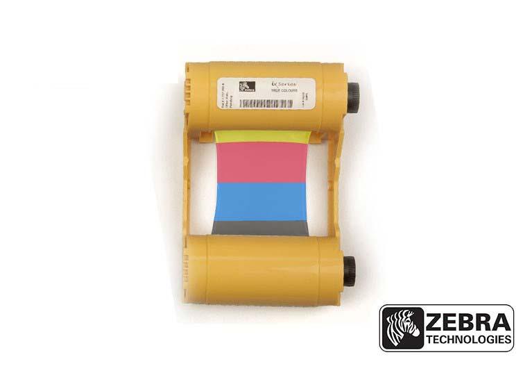 Ribbon Colorido Zebra - 800033-347 (400 impressões)