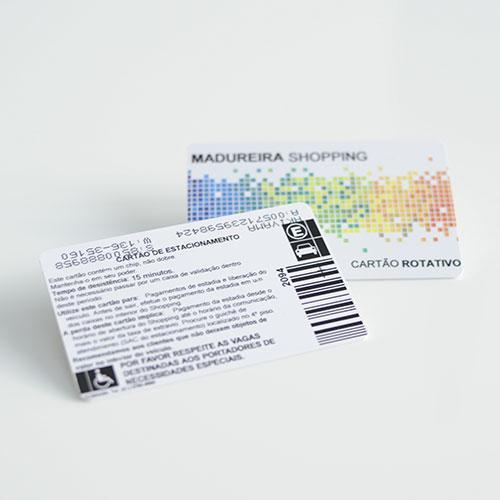 Cartão de Proximidade para Estacionamento