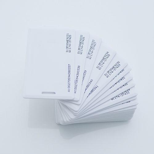 Cartão 125Khz Clamshell Padrão EM4100