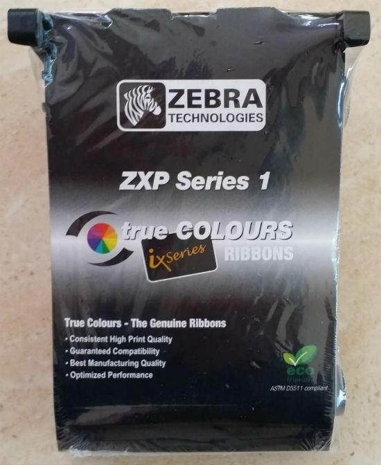 Ribbon Zebra Preto - 800011-101 (100 impressões)