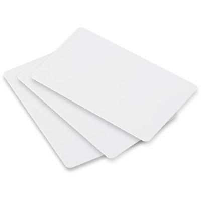 cartão pvc em branco