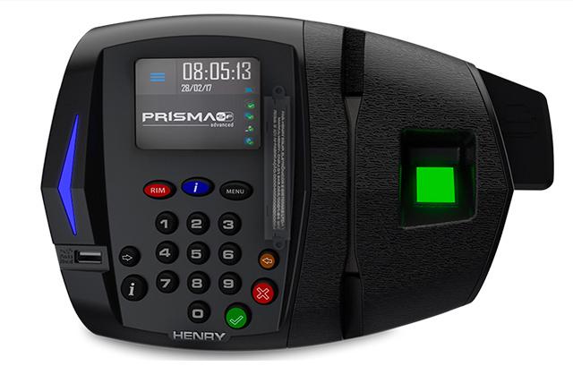 Relógio de ponto Prisma Super Fácil Advanced