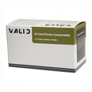Ribbon Polaroid Color 9-PL300YMCKO para impressoras P2500 e P4500