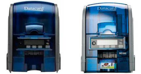 Impressão de crachás e cartões: Datacard SD 160 e Datacard SD 360
