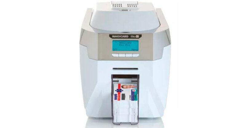 Equipamento de impressão para empresas: Magicard modelo Rio Pro!