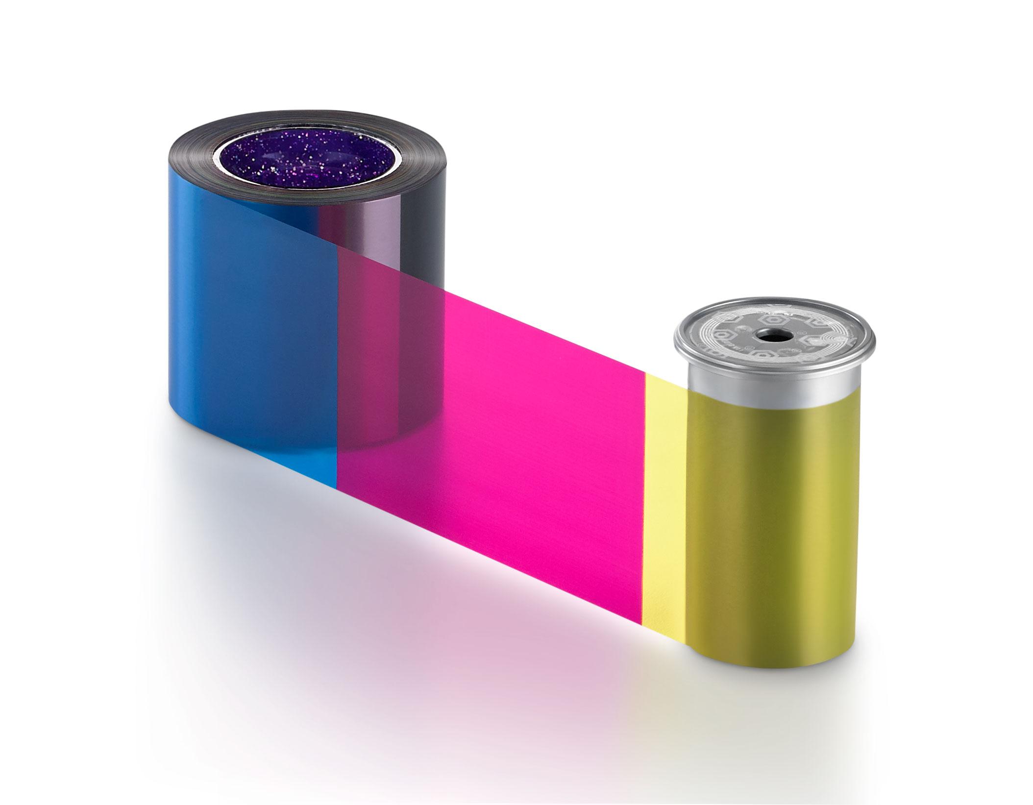 Ribbon colorido Sigma