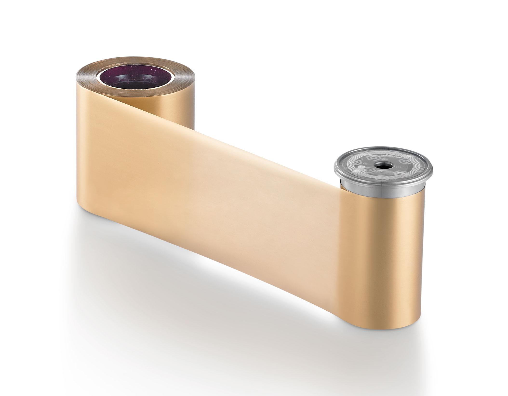 Ribbon Monocromático Dourado Fosco - Sigma