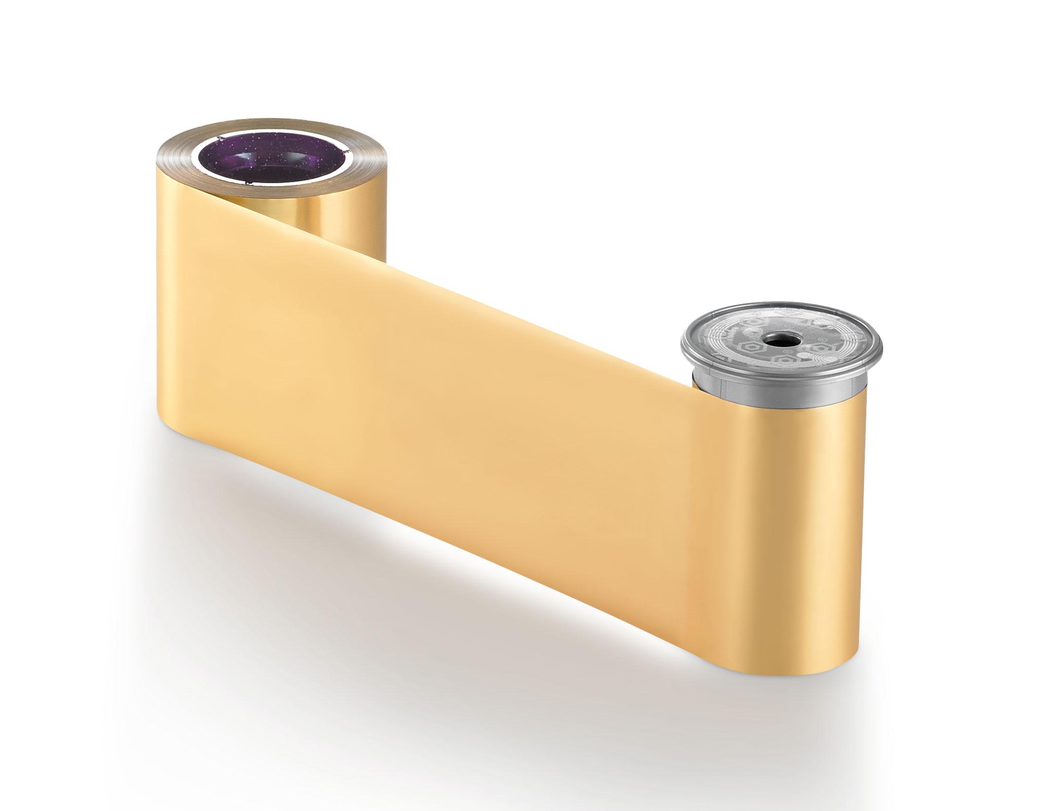 Ribbon Monocromático Ouro Metálico - Sigma