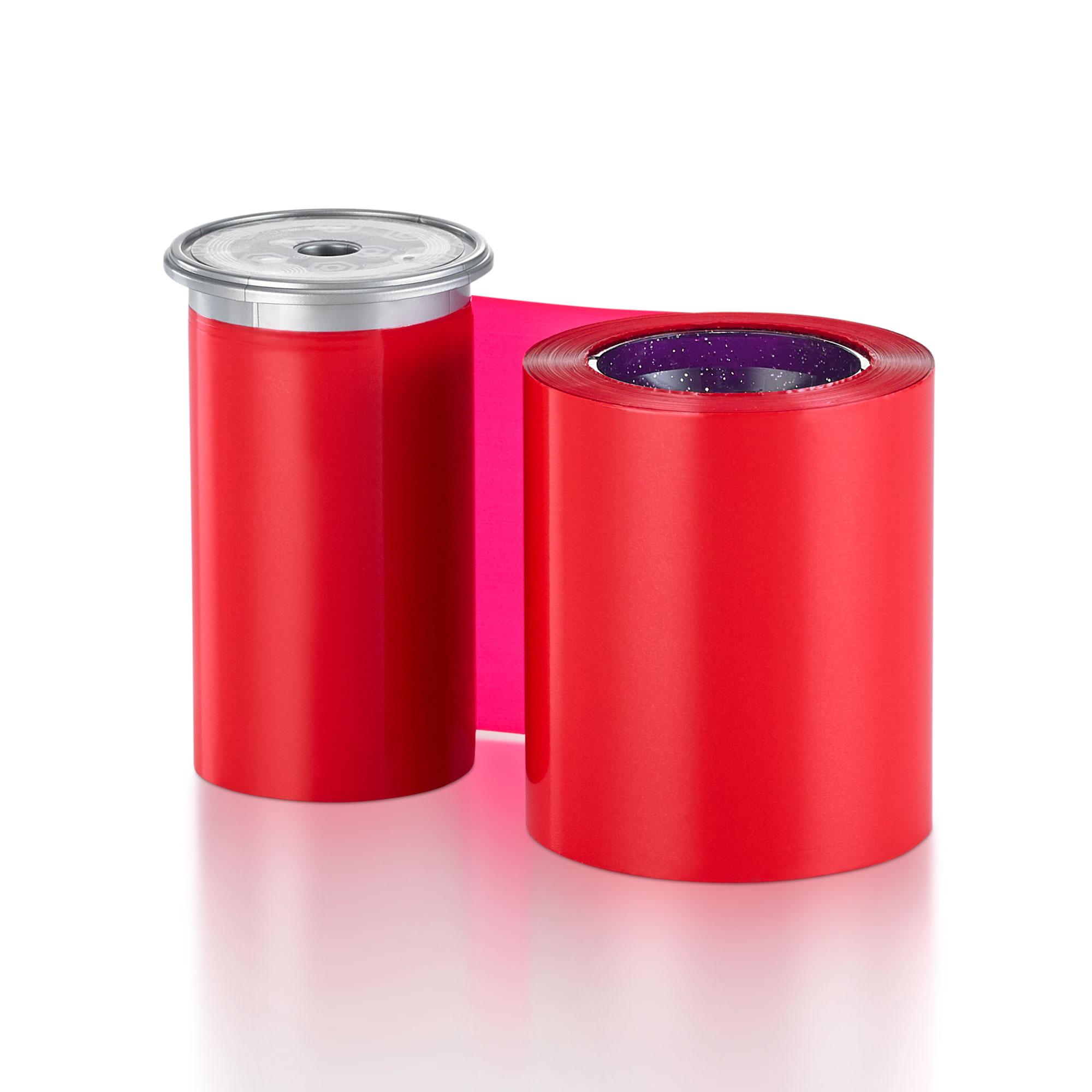 Ribbon Monocromático Vermelho - Sigma